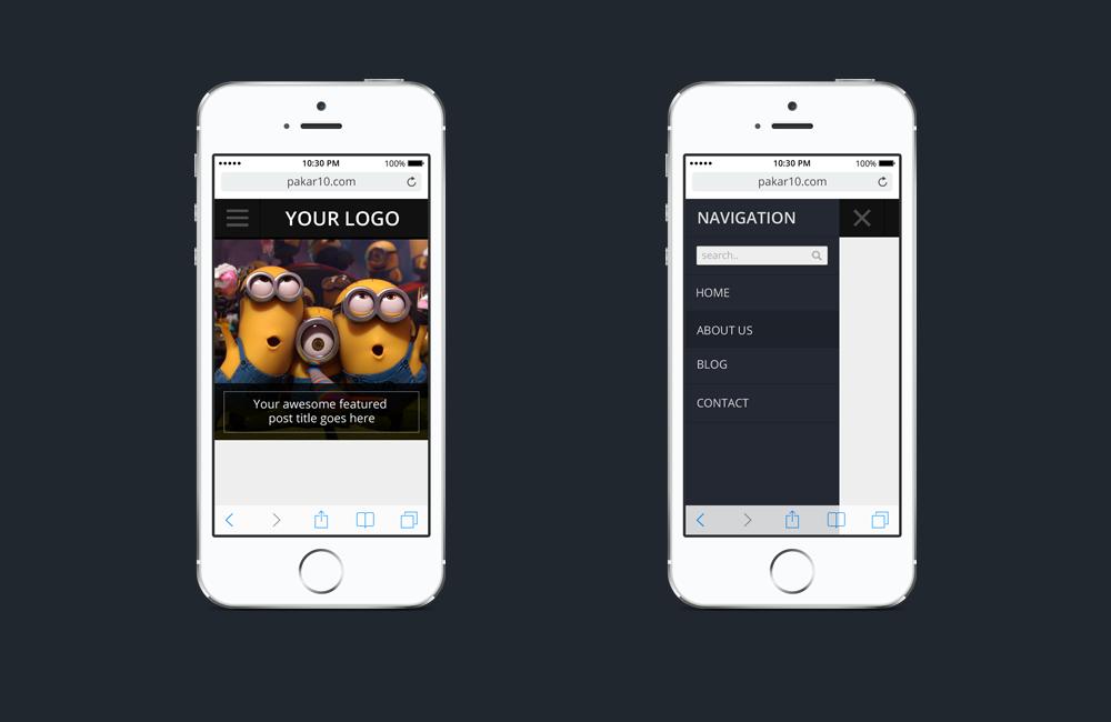 Make your WordPress website mobile friendly