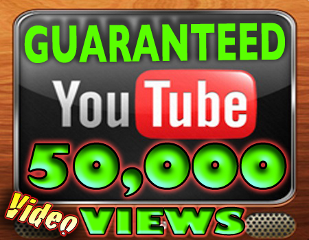 give you guaranted 50000++ real Human youtube video views