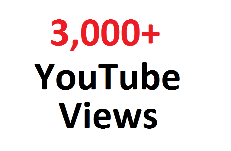 Add 3,000 HR Views or 300 Youtube Likes