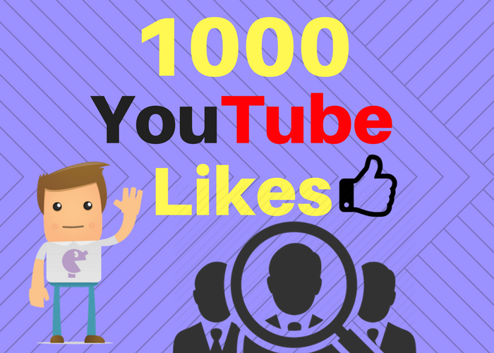 Added super fast  1000 Youtube Likes