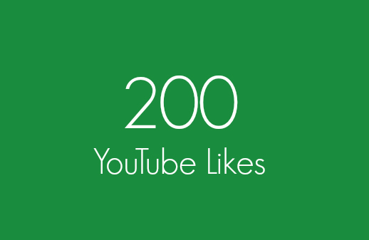 200 Real YouTube Likes Within 24 Hours