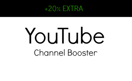 CHANNEL BOOSTER - ADD 40 Subscribers + 3 Channel Comments To Your Channel