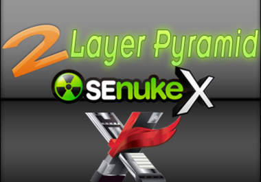 an awesome pyramid using senuke and xrumer