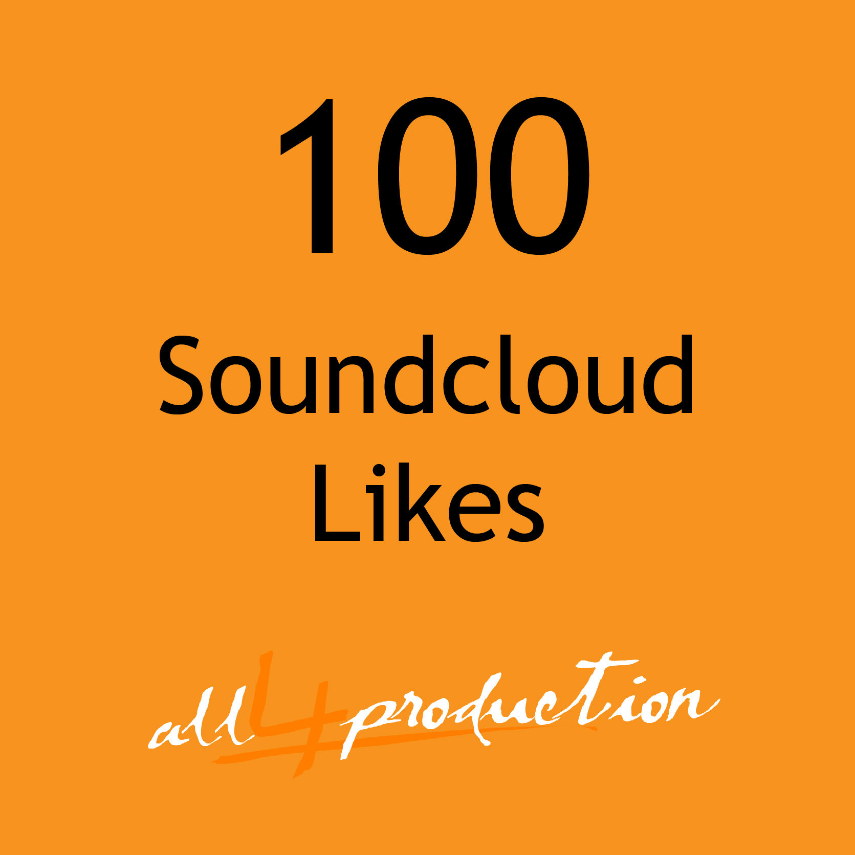 I will give you 100 FAST Soundcloud Likes in under 24 Hours