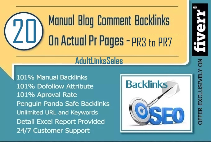 I Will Make Manually 20 Dofollow Blog Comments Actual PR3 To PR7