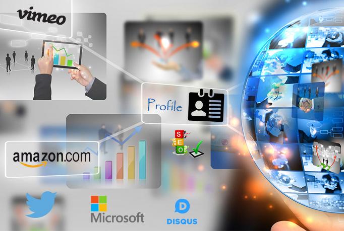 Manually Create 20 High Domain Authority (DA) Profile backlinks