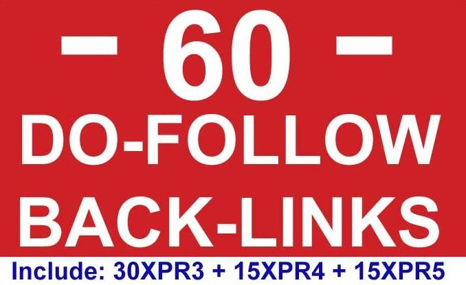 blog 60 actual high PR backlinks 15pr5 15pr4 30pr3 manually