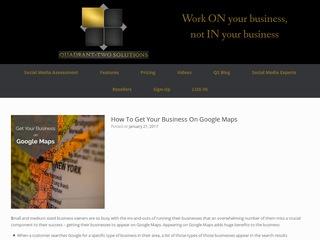 Quadrant-Two Blog Sponsored Blog Review