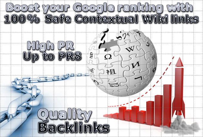 Build 100+ High Quality WIKI Backlinks up to PR8 with Anchor Text
