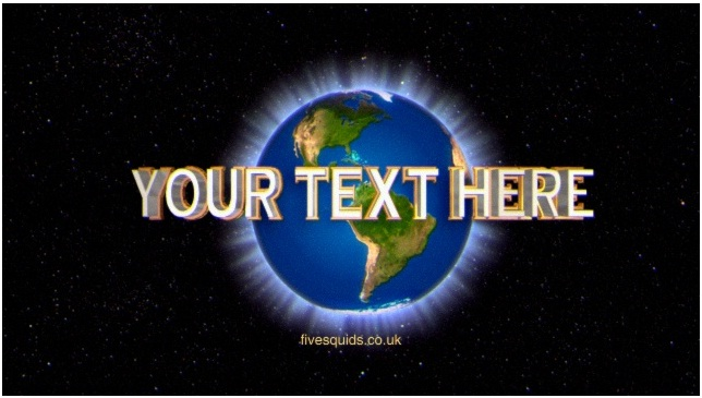 make you the well known Universal VIDEO_INTRO with your custom text