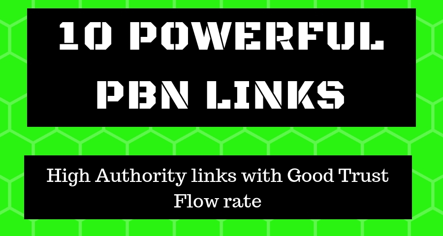 10 Permanant DA 30 - 50 Homepage Dofollow PBN Backlinks