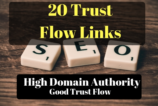 I will add 20 PBN (Trust Flow Links) up to 30 TF