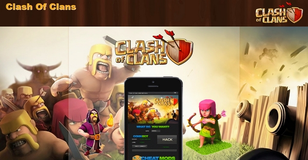 Clash Of Clans Blogspot Template For PPD Theme