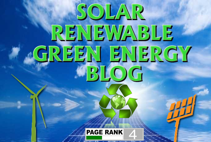 I will give you a guest post on my DA40 Solar Energy web site