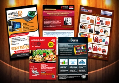 I will create KILLER Flyer Design
