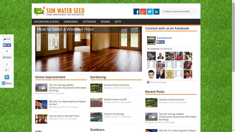 PR4 Home Decoration and Gardening blog Guest post Sponsored Blog