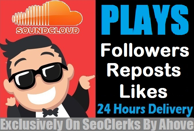 Start Instant 5000 SoundCloud Plays In Your Tracks for $1