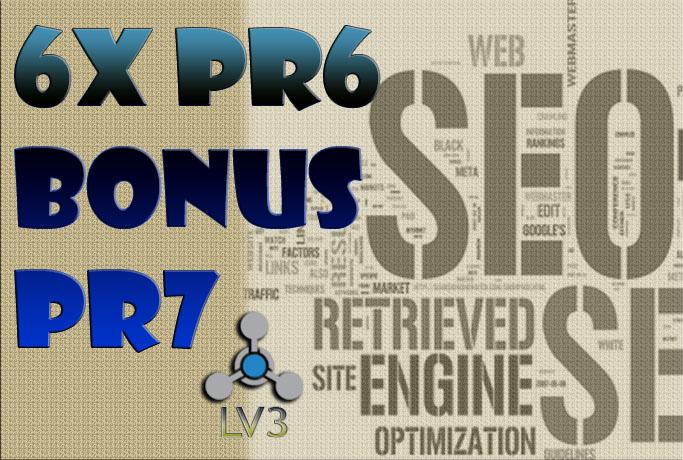 6x PR6 and bonus PR7 permanent Quality link Manuall