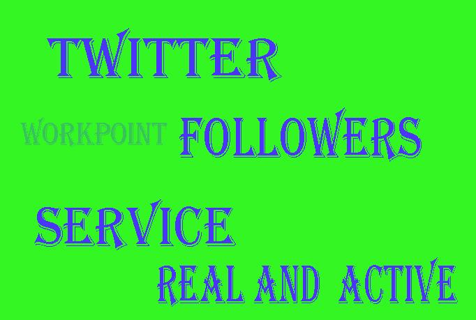 I will add (Usa base) 16000+ twitter follow Guaranteed