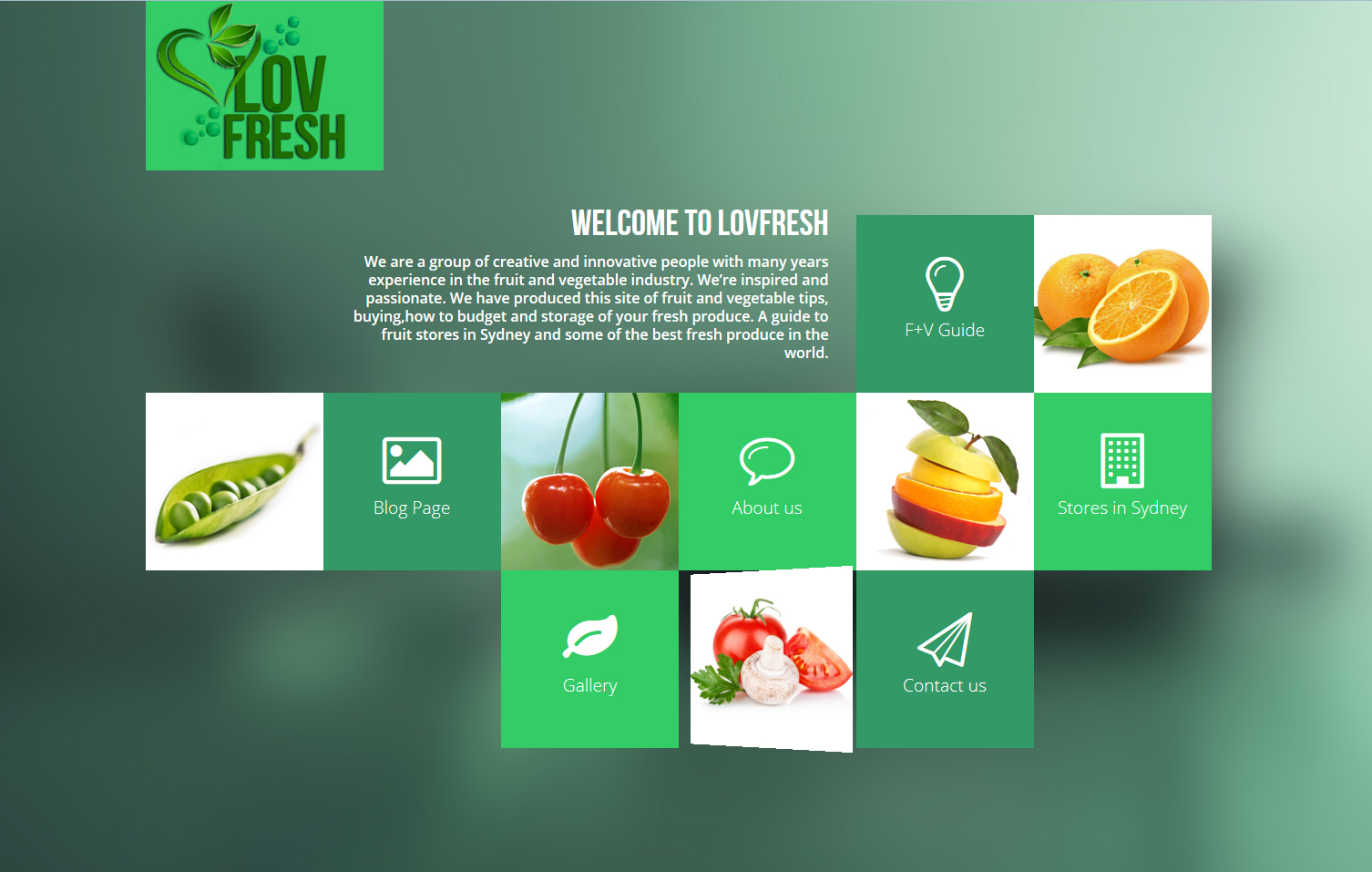 I'll Design you a modern responsive Web site