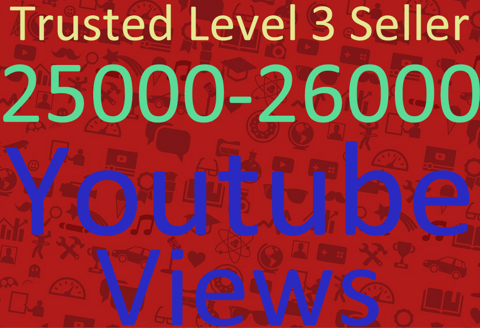 Add 25000-26000 Adsence Safe High Retention   YouTube Views Within 36-48 Hours Instant Start