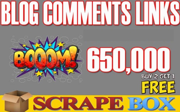 I Will Scrapebox Blast, 650k Live SEO Blog Comments Bulk Backlinks