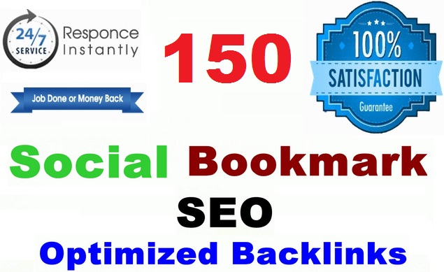 Manually Create 150 Social Media Bookmarks in Google High Page Rank Sites
