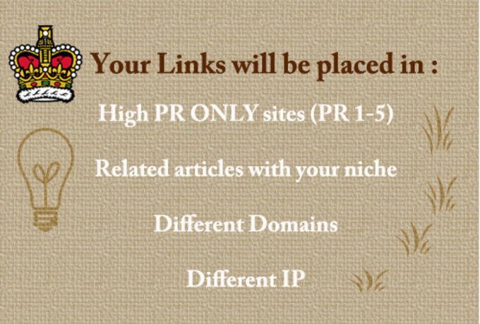 ​I will submit 25 articles to my private blog network only