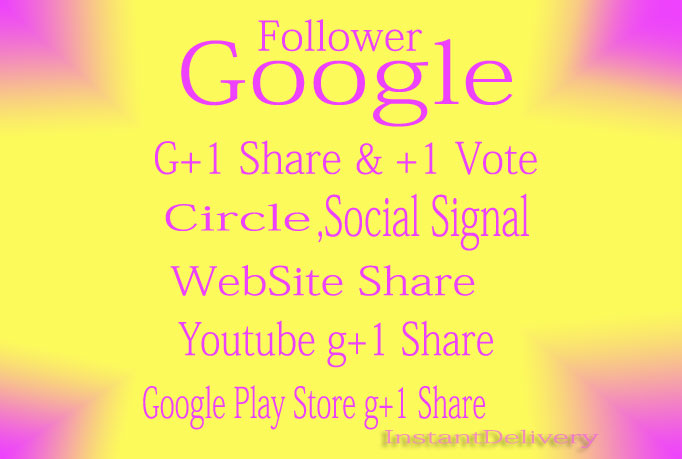 give you 105 US base Google Plus Circle Followers