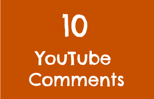 10 Real Video Comments Within 24 Hours