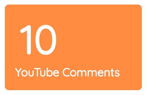 10 High Quality Video Comments Within 24 Hours