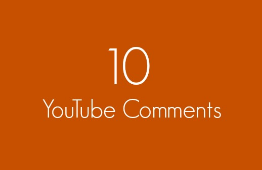 10 Real YouTube Video Comments In 24 Hours