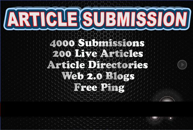 I Will Spin And Submit Your Article To 7450 Directories, Get 500 Quality Backlinks