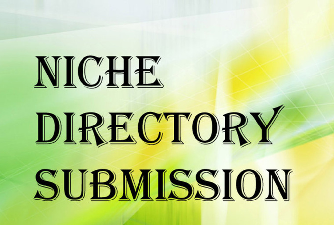 I will do 15 niche directories submissions manually