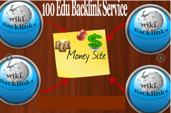I will create Penguin Proof 100+ High Pagerank Authoritative Edu And Gov WikiContextual Backlinks