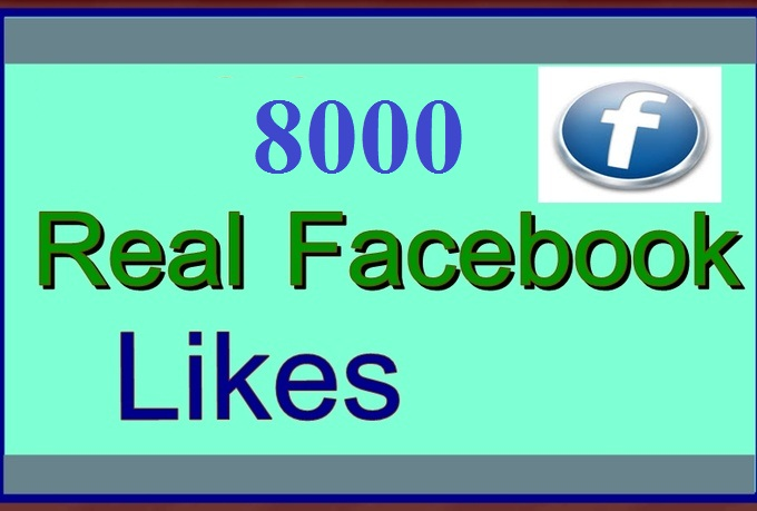 add 7000+ FACEBOOK Likes To Your FanPages, Real and Active Page Likes