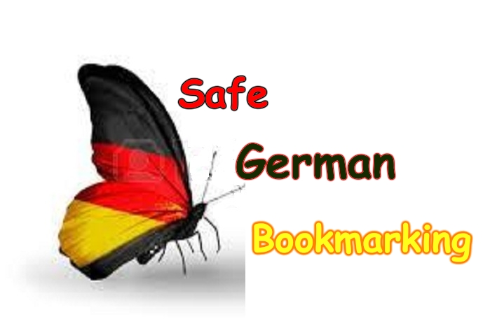 i will do 25 German high PR Social bookmarking submission Buy One Get One Free