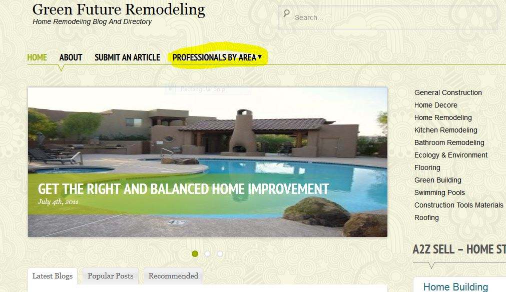I will list your construction company on a high ranking construction directory.