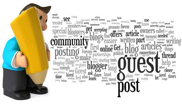 Publish your guest post on PR2+ niche blogs