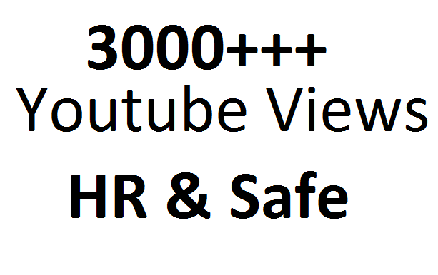 Best Way To Get 3000 Non Drop promotion On Your YouTube Video