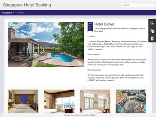 Singapore Hotal Booking Sponsored Blog Review