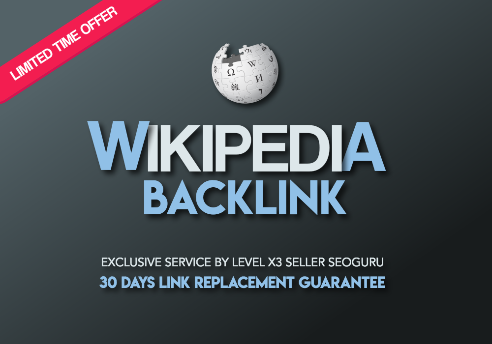 Authority WIKIPEDIA Backlink - Sticky Niche Relevant