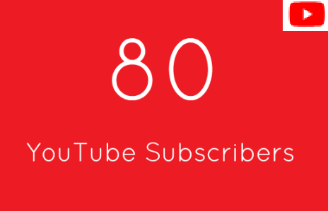 80+ Real You Tube Subs cribers Within 24 Hours
