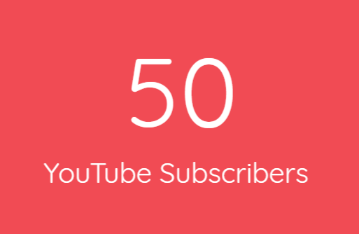 50+ Real You Tube Subs cribers Within 24 Hours