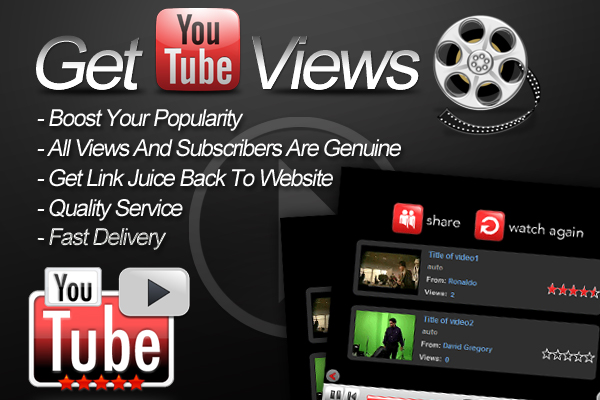 5555+ Working Youtube Views (High Retention) + 50 Free Likes