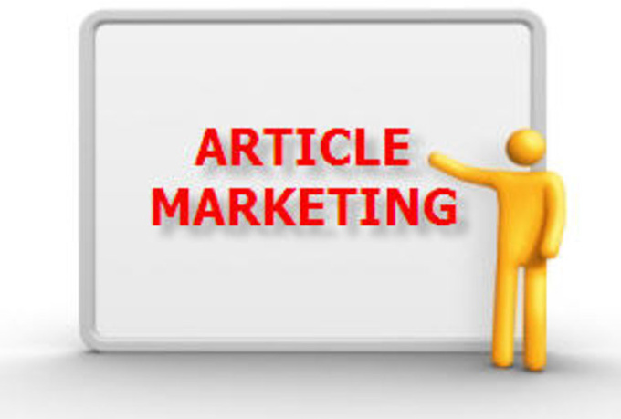 I will write, submit and approve 3 articles in three top directories