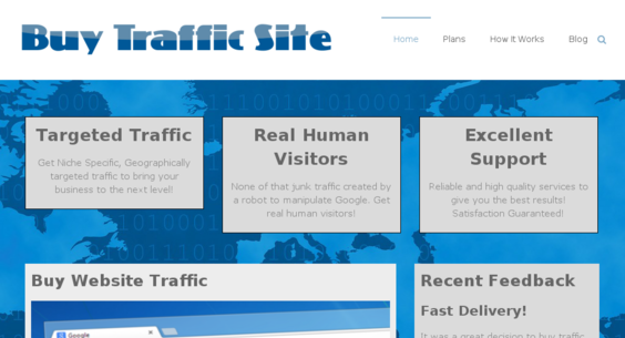Create a Website to Resell Traffic Services from SEOClerks
