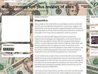 Money Making tips plus reviews