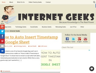Internet Geeks