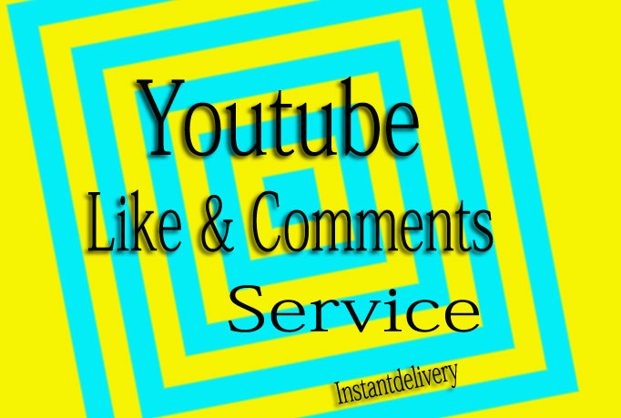 Give You REAL YouTube 50 comments, 25 Like , 50 subscribers